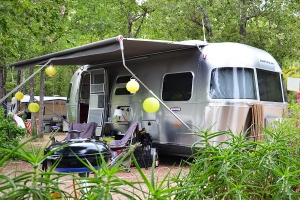 Camping pitch Fayence