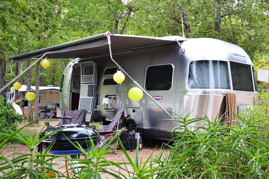 Emplacement camping Fayence